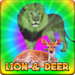 Lion And Deer Escape Games2Jolly