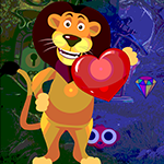 Lion Love Escape Games4King