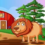 Lion Rescue Games4King