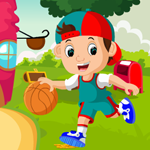 Little Basketball Player Rescue Games4King