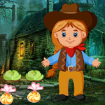 Little Cowgirl Escape 2 Games4King