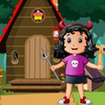 Little Devil Girl Rescue Games4King