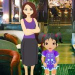 Little Girl Restaurant Escape BigEscapeGames