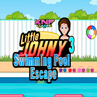 Little Johny 3 Swimming Pool Escape KNFGames