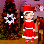 Little Santa Girl Escape Games2Rule
