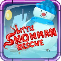 Little Snowman Rescue Games4Escape