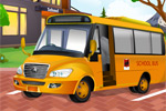 Locked School Bus Girl Escape 5nGames