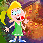 Lollipop Girl Rescue Games4King