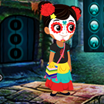 Lovable Halloween Girl Escape Games4King