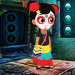 Lovable Halloween Girl Escape Games4King