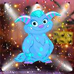 Lovely Blue Monster Escape Games4King