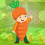 Lovely Carrot Boy Escape Games4King