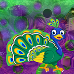 Lovely Peacock Escape Games4King