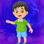 Lovely Smiling Boy Escape Games4King