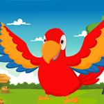 Macaw Bird Escape From Cage Games4King