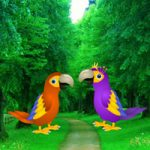 Macaw Parrot Love Rescue Games2Rule