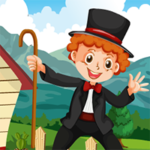 Magician Boy Rescue Games4King