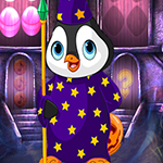 Magician Penguin Escape Games4King