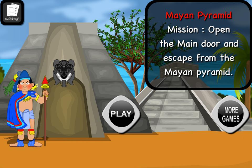 Mayan Pyramid Escape OleGames