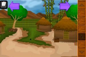 Mayan Village Escape OleGames