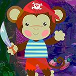 Menacing Monkey Escape Games4King