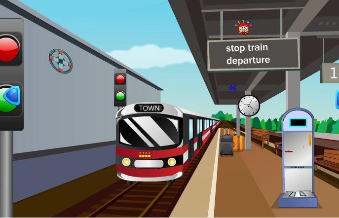 Metro Train Signal Escape Games 2 Jolly