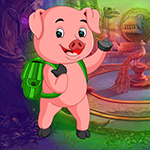 Mini Escape Game Naughty Pig Games4King