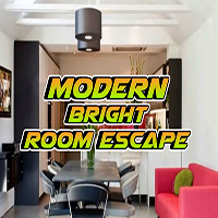Modern Bright Room Escape EscapeGamesToday