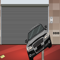Modern Car Garage Escape GenieFunGames