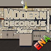 Modern Decorous House Escape ENA Games