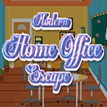 Modern Home Office Escape GenieFunGames