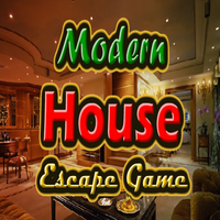 Modern House Escape Game MeenaGames