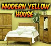 Modern Yellow House Escape AvmGames