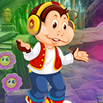 Modernistic Monkey Escape Games4King