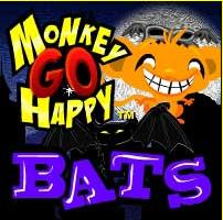 Monkey GO Happy Bats Pencilkids