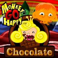 Monkey GO Happy Chocolate PencilKids