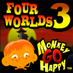 Monkey GO Happy Four Worlds 3 PencilKids