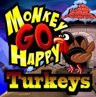 Monkey GO Happy Turkeys PencilKids