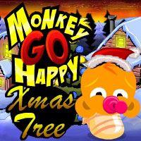 Monkey GO Happy Xmas Tree PencilKids