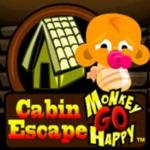 Monkey GO Happy Cabin Escape PencilKids