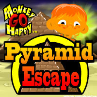 Monkey Go Happy Pyramid Escape PencilKids
