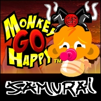 Monkey Go Happy Samourai