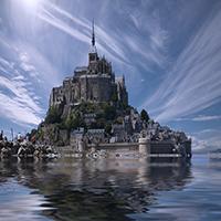 Mont Saint Michel Puzzle OceanDesJeux