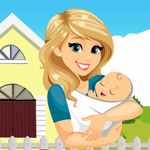 Mother Rescue With Baby Games4King