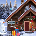 Mountain House Christmas Escape GenieFunGames