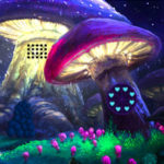 Mushroom Fantasy Village Escape Games2Rule