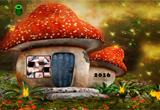 Mushroom House Baby Fairy Escape FirstEscapeGames