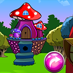 Mushroom House Escape Games4King