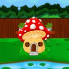 Mushroom House Frog Escape EscapeGamesZone