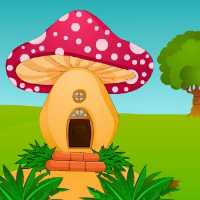 Mushroom House Rabbit Escape EscapeGamesToday